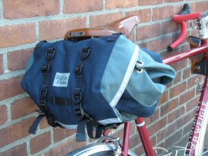 large saddle bag mounted
