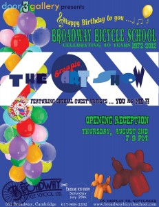 August Group Show - Happy Birthday Broadway
