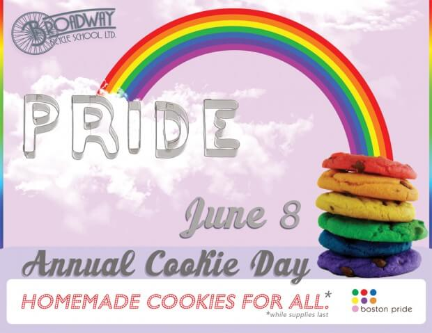 Broadway Pride Cookie Day is June 8th